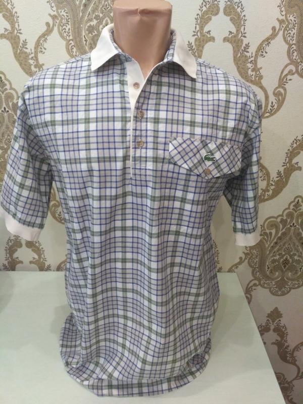 Поло lacoste, тенниска, рубашка размер s на высокий рост