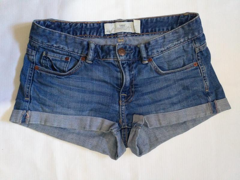 Короткие джинсовые шорты h&m 25 размер