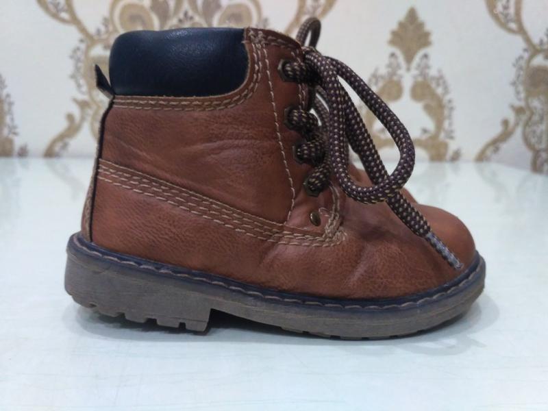 Демисезонные ботиночки 21 размер