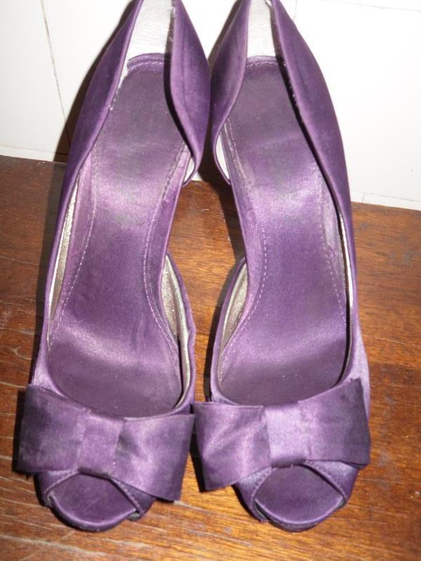 Туфли gorgeous с открытым носочком 38 размер