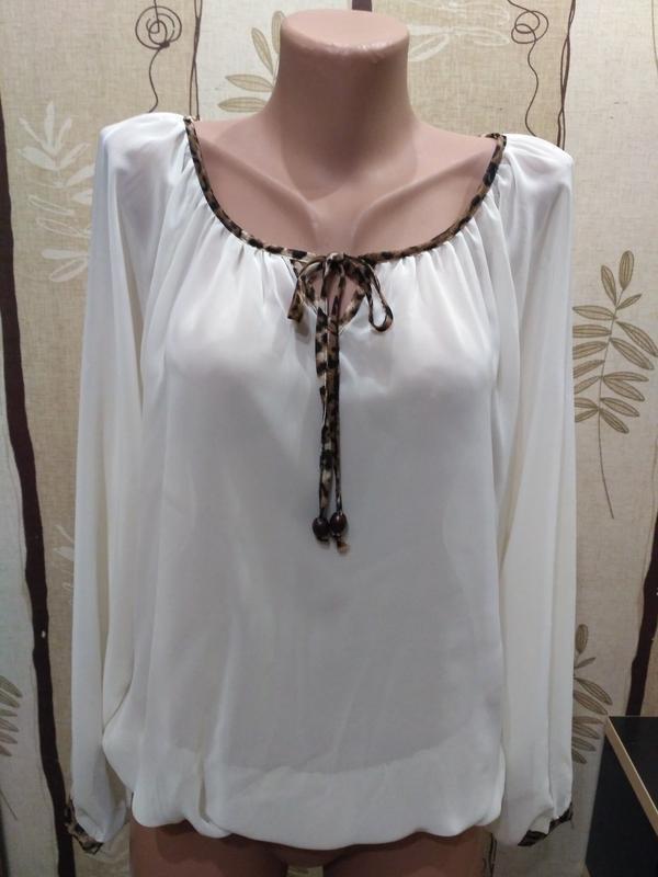 Прозрачная, невесомая блузка, блуза select размер xl