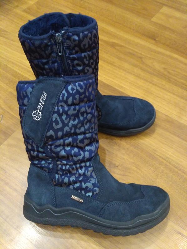 Замшевые сапоги flexible 33 размер, стелька 21,5 см