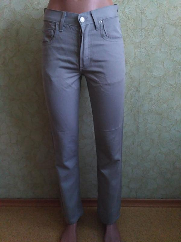 Тонкие прямые джинсы motor jeans 26 и 31 размер
