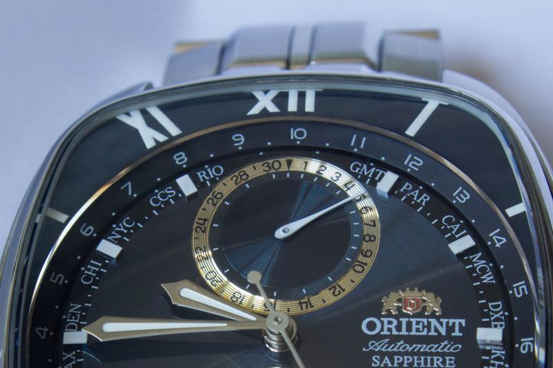 Часы мужские механические ориент Orient  CFFAAA001B - Фото 5