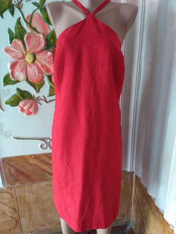 Шикарный сарафан, платье с открытыми плечами размер 20/54