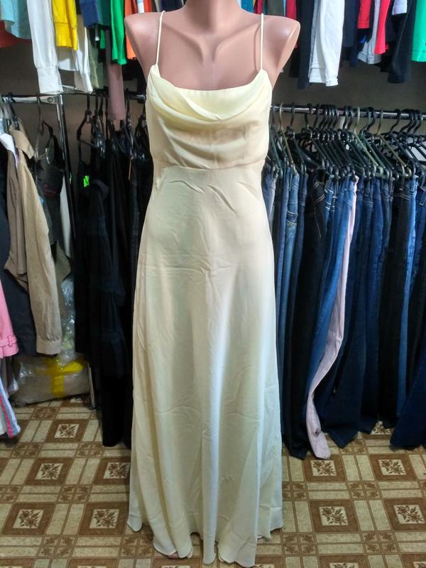 Вечернее платье сарафан в пол размер м