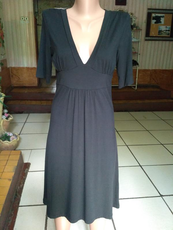 Трикотажное платье gap, размер м