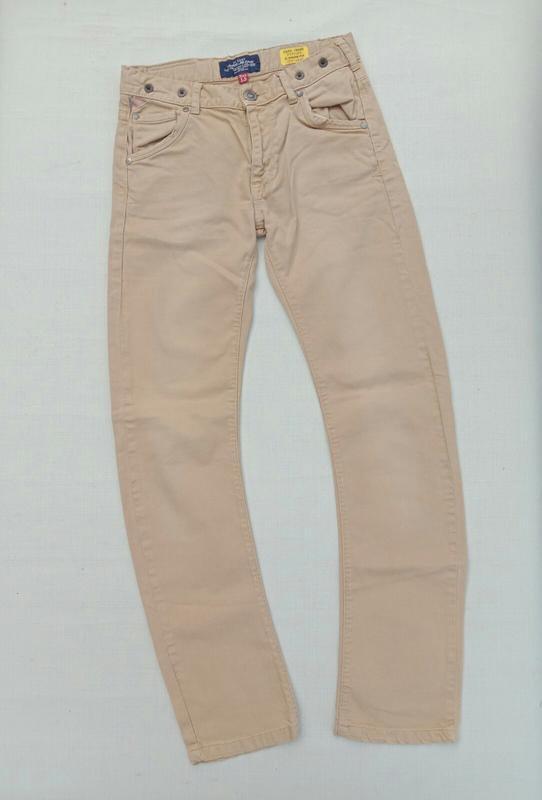 Брюки джинсы бежевые cars jeans