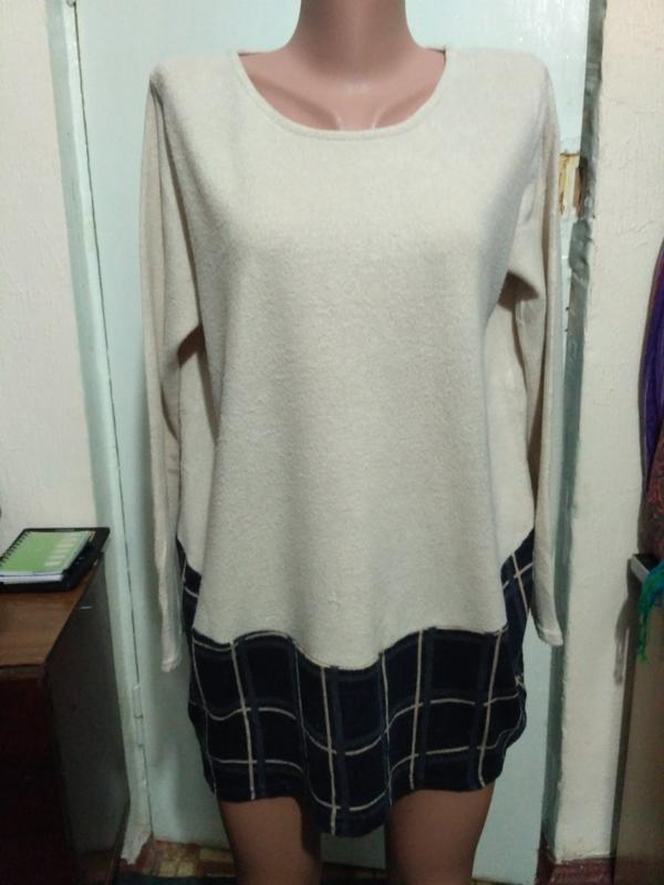Туника, короткое платье - футляр размер м