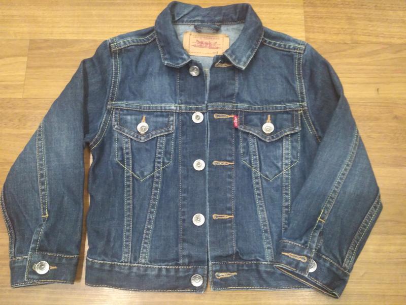 Levis джинсовый, коттоновый пиджак