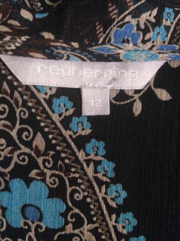 Шифоновая блузка размер l - Фото 3