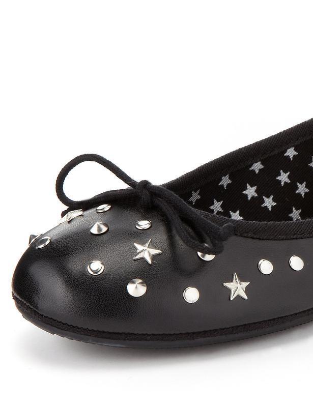 Новые туфли балетки m&s - Фото 2