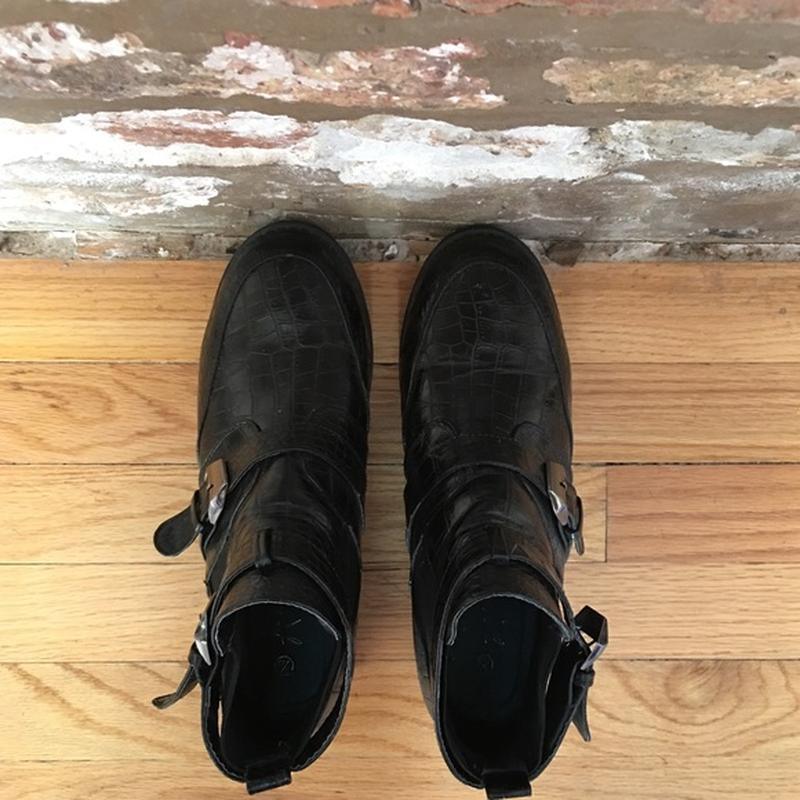 Ботинки с пряжками atmosphere - Фото 3