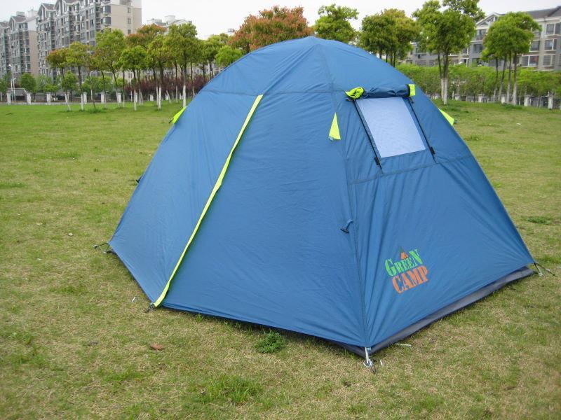 Палатка 2-х местная Green Camp 1001 - Фото 2