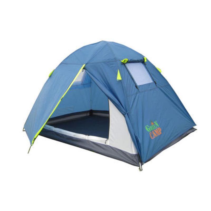 Палатка 2-х местная Green Camp 1001 - Фото 4