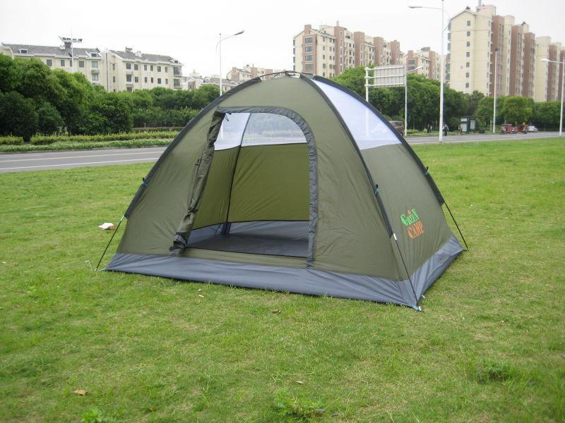 Палатка 2-х местная Green Camp 3005. - Фото 2