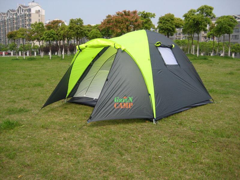 Палатка 3-х местная Green Camp 1011.