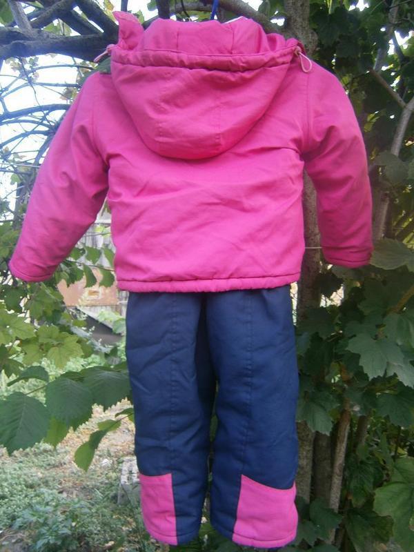Зимний костюм на девочку - Фото 2