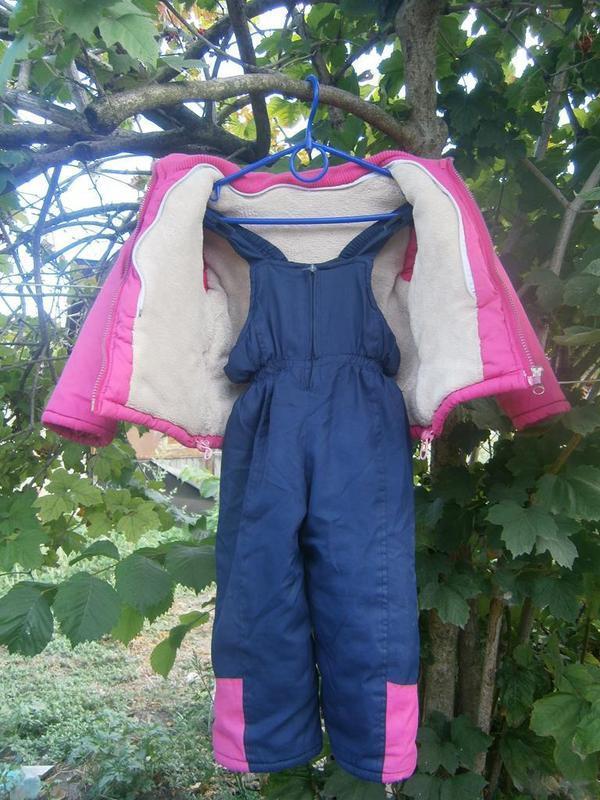 Зимний костюм на девочку - Фото 3