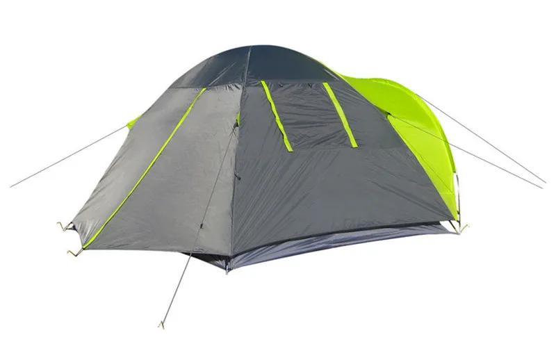 Палатка 3-х местная Green Camp 1011-2, на 2 входа. - Фото 6