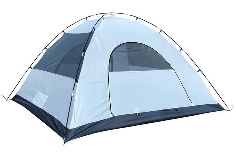Палатка 3-х местная Green Camp 1011-2, на 2 входа. - Фото 7