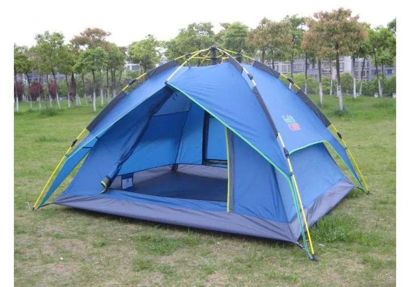 Палатка 3-х местная Green Camp 1831 ( автомат )