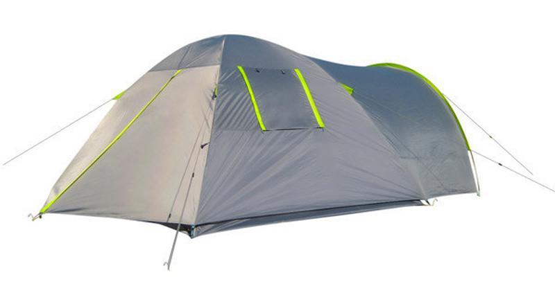 Палатка 4-х местная Green Camp 1009-2, 2 входа - Фото 3