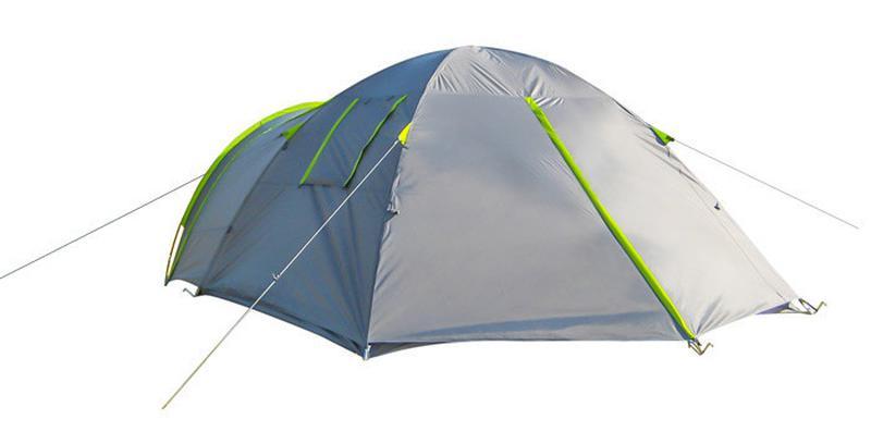 Палатка 4-х местная Green Camp 1009-2, 2 входа - Фото 6