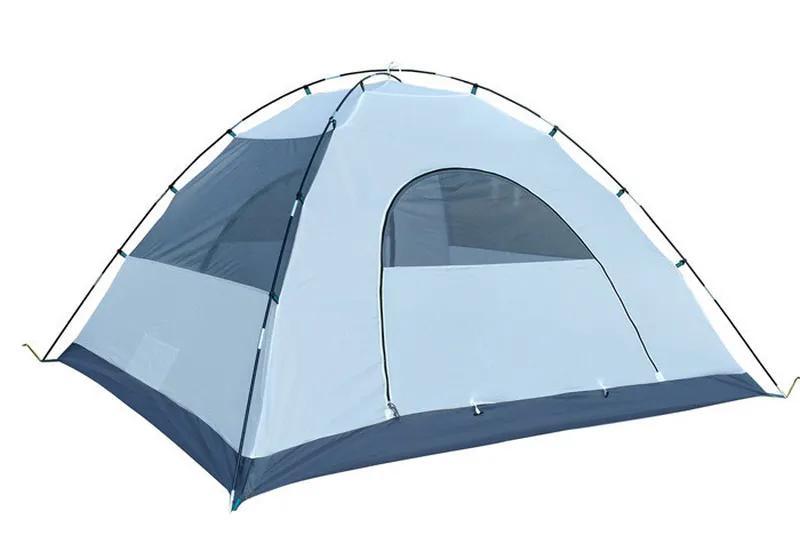 Палатка 4-х местная Green Camp 1009-2, 2 входа - Фото 8