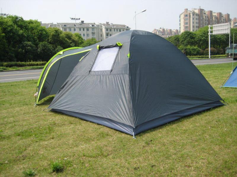 Палатка 4-х местная Green Camp 1009+дополнительный пол в тамбур. - Фото 5