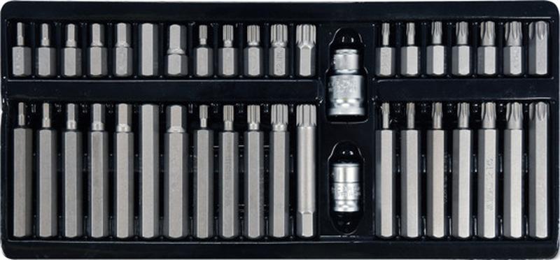 Набор инструмента 40 ед. YATO YT-0400 - Фото 3