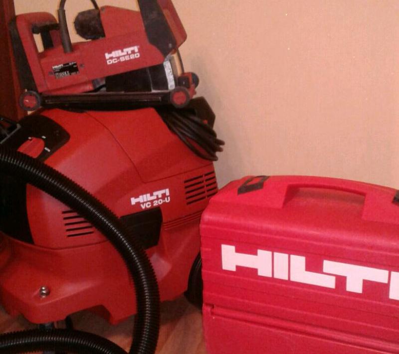 Услуги электрика без пыли. Штробы без пыли с пылесосом Hilti