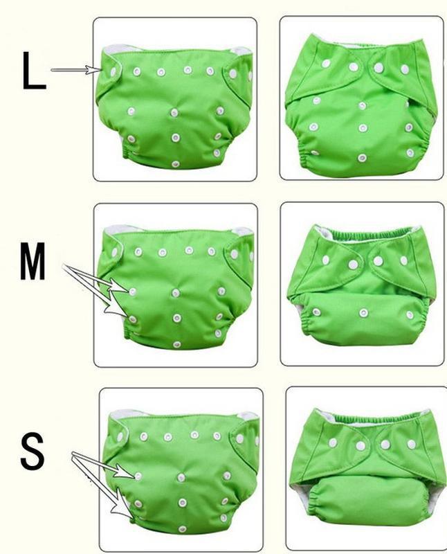 Трусики многоразовые, памперс, плавки - Фото 4