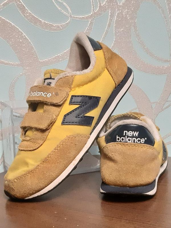 Оригинальные кроссовки детские new balance 410 - Фото 2