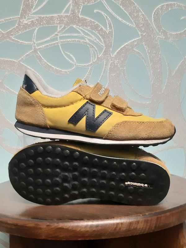 Оригинальные кроссовки детские new balance 410 - Фото 4