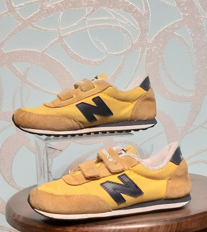 Оригинальные кроссовки детские new balance 410 - Фото 7