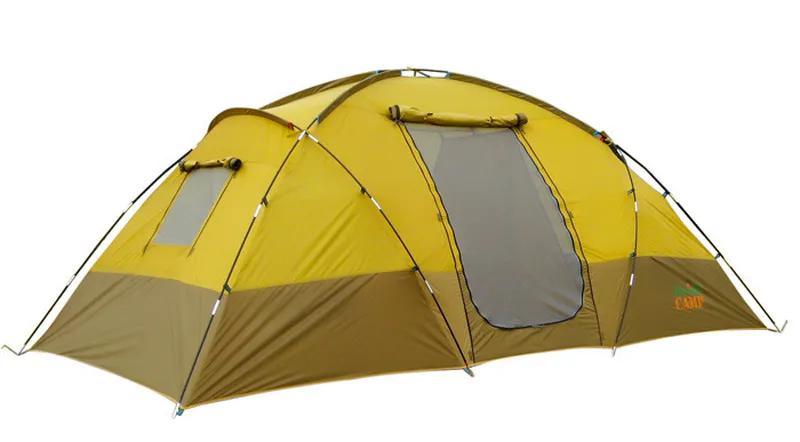 Палатка 4-х местная Green Camp 1100. - Фото 4