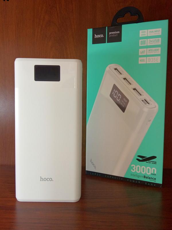 Повер Банк, Внешний аккумулятор Power Bank Hoco 30000mAh Original