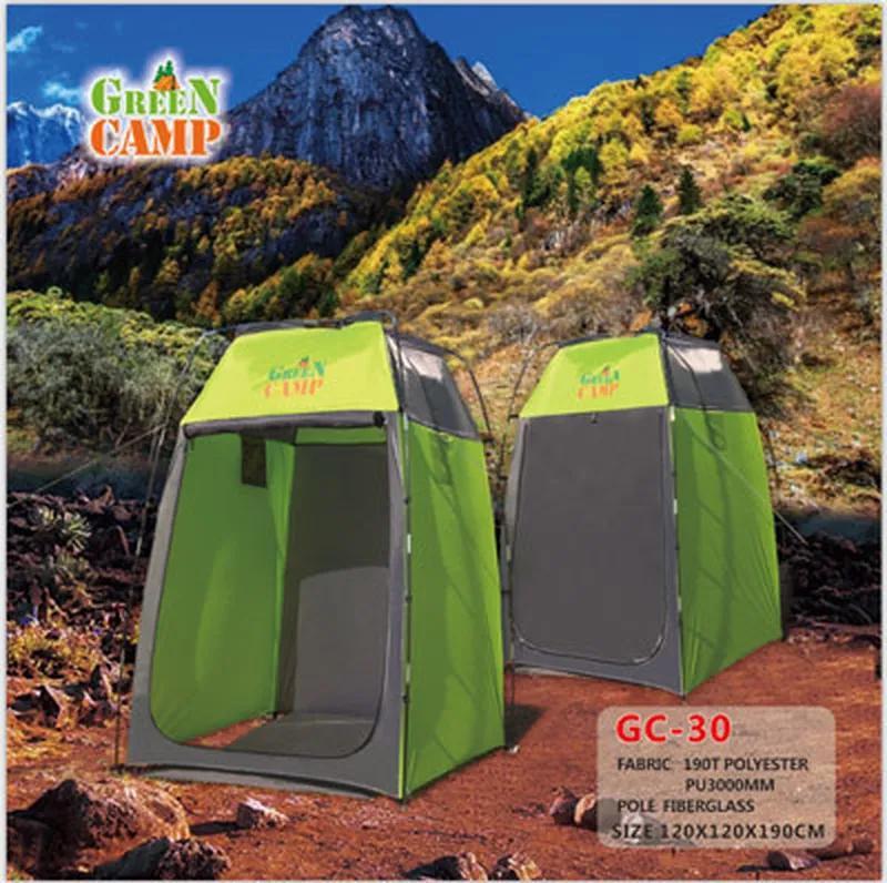 Палатка-душ GreenCamp 30, 120х120х190 см - Фото 3