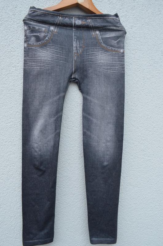Красивые модные брюки лосины на девочку 10-12 лет