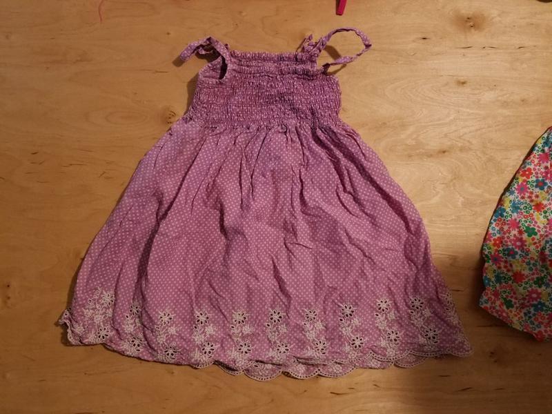 Брендове плаття дитяче сукня marks & spencer indigo 2-3 роки [...