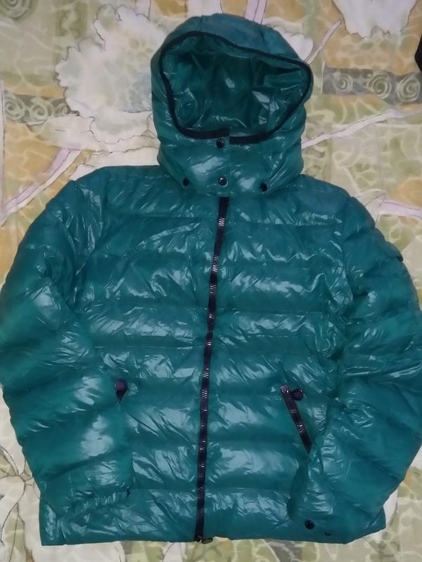 Moncler bady giubbotto пуховик куртка оригинал riri размер 3 ,... - Фото 3
