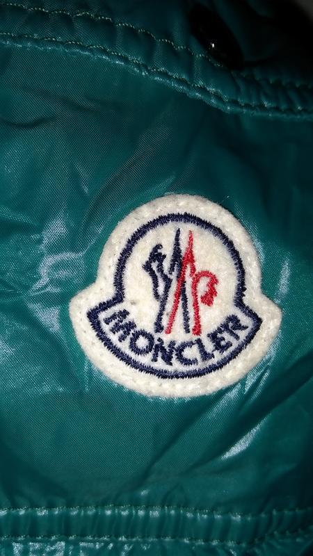 Moncler bady giubbotto пуховик куртка оригинал riri размер 3 ,... - Фото 7