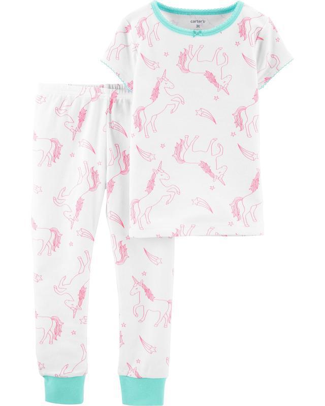 Пижама с единорогами carters
