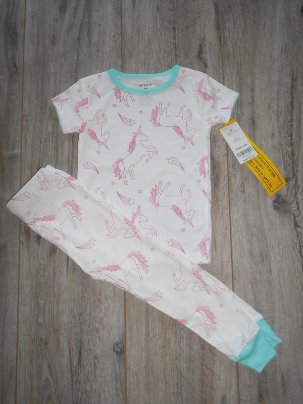 Пижама с единорогами carters - Фото 2