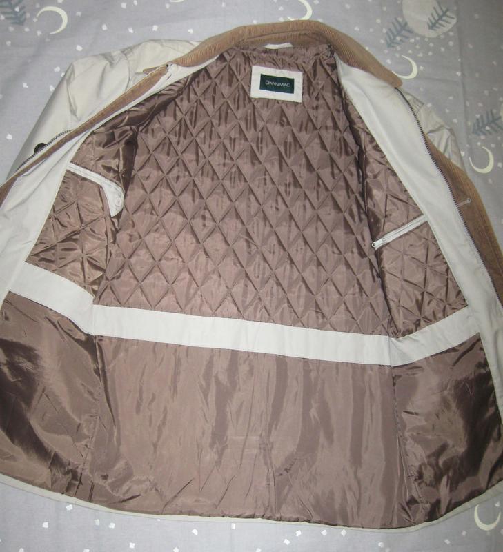 Мужская куртка dannimac р.52-54 демисезонная - Фото 4