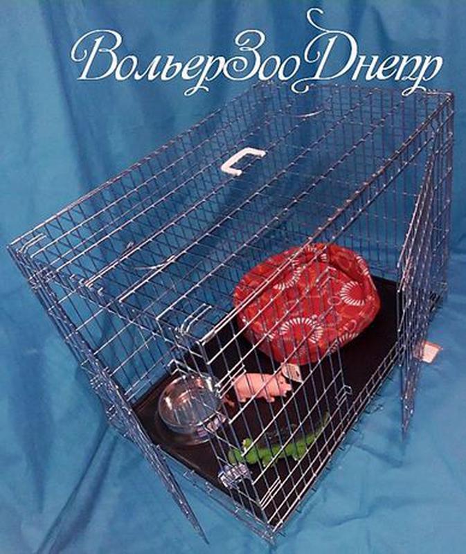 """Клетка для собак 116x77x86см """"Croci""""(кросси, кроучи, вольер, и... - Фото 2"""