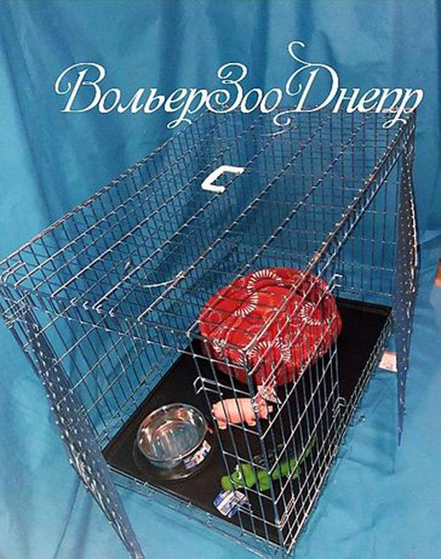 """Клетка для собак 116x77x86см """"Croci""""(кросси, кроучи, вольер, и... - Фото 3"""