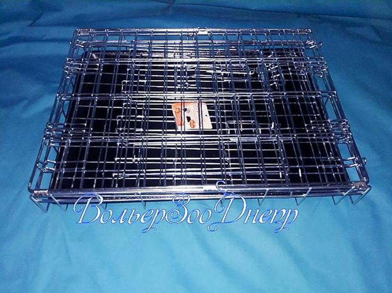 """Клетка для собак 116x77x86см """"Croci""""(кросси, кроучи, вольер, и... - Фото 5"""