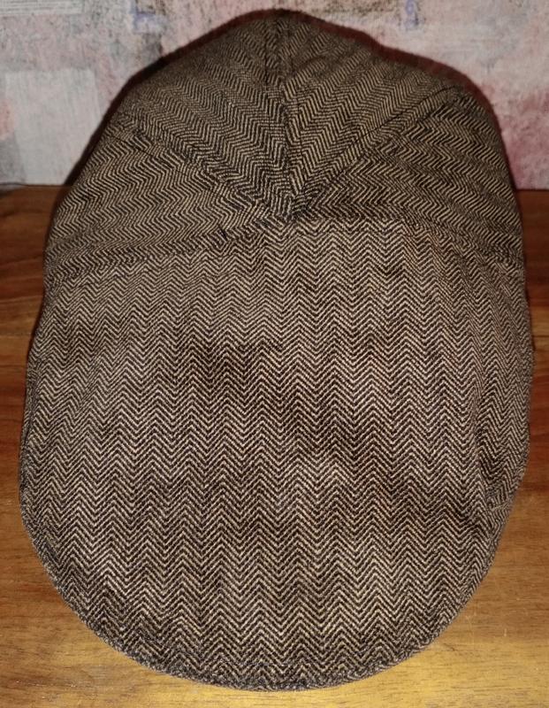 Котоновая кепка-шестиклинка h&m